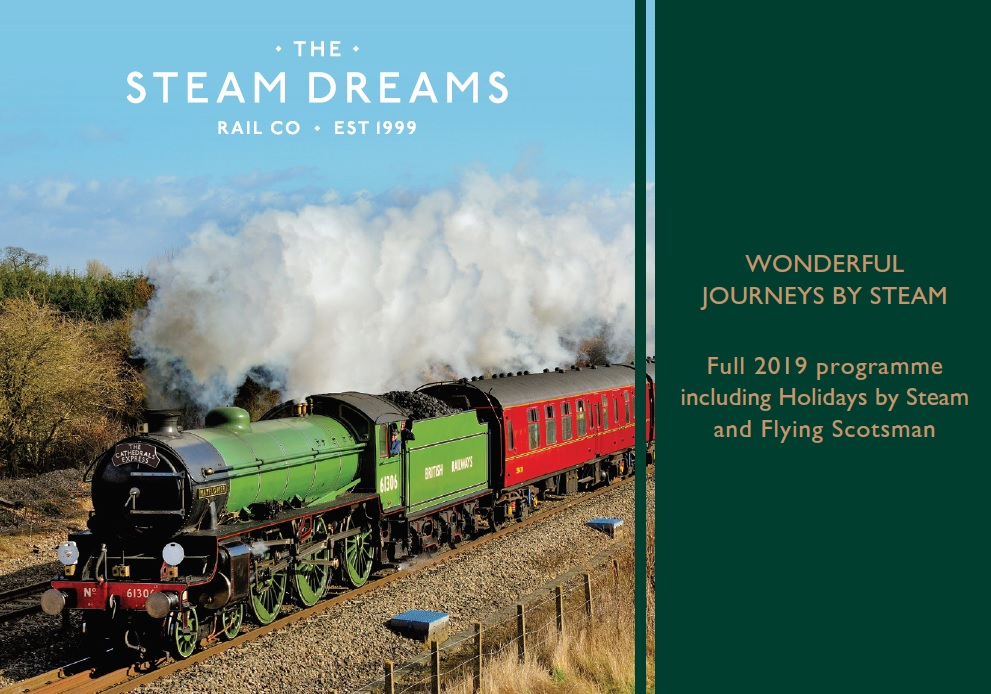 Steam Dreams Brochure